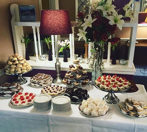 Burntisland, UK: High Tea Cake Buffet