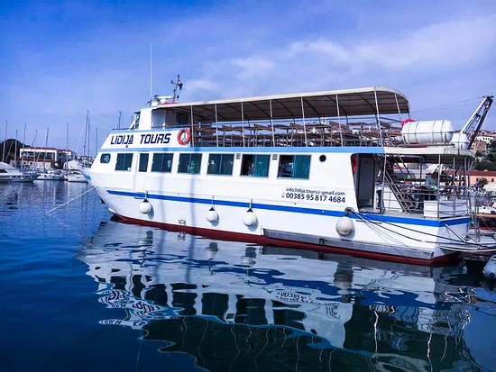Vrsar, Croatia: New boat for a season of 2017, 130 person capacity!