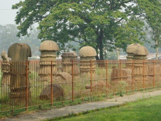 Dimapur, India: Pieces quite lined up.