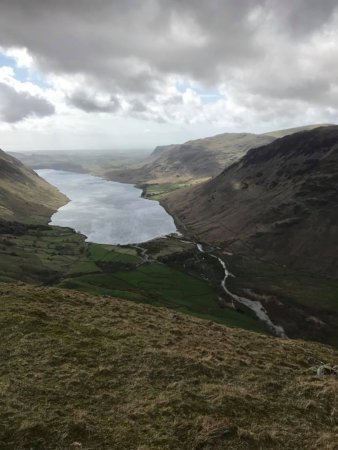 Broughton-in-Furness, UK: View from Scafell Pike