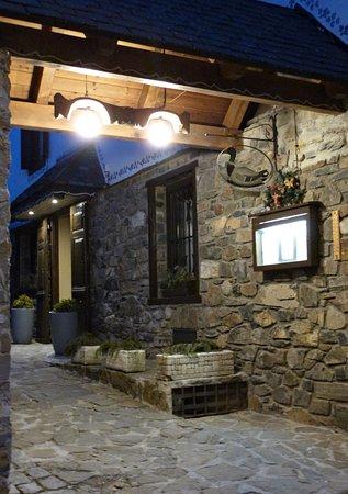 Escunhau, Spanje: Entrada Restaurante