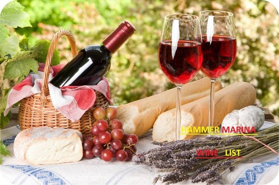 Pothia, Griekenland: wine list