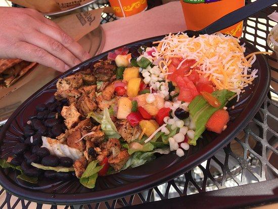 Cheektowaga, NY: Seasonal Mexican Chop Salad with Pineapple Salsa
