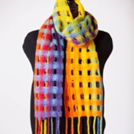 Torrington, CT: This scarf can be woven by beginners!