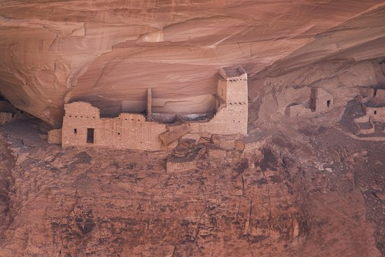 Canyon de Chelly National Monument: Antelope house ruins.