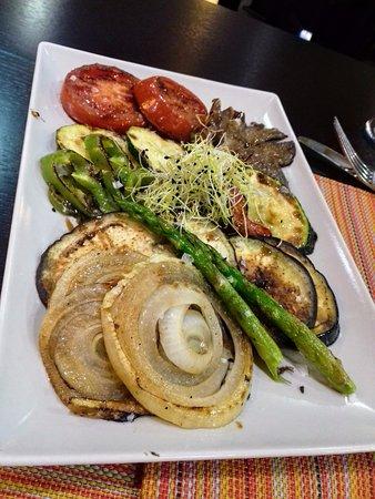 Parrillada de verduras picture of gran hotel don manuel for Parrillada verduras
