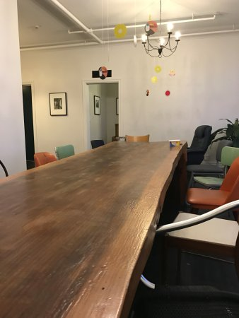 The Dwellington Dining Table With Mismatched Chairs