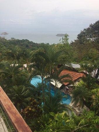 Hotel Si Como No: View from Reception area.