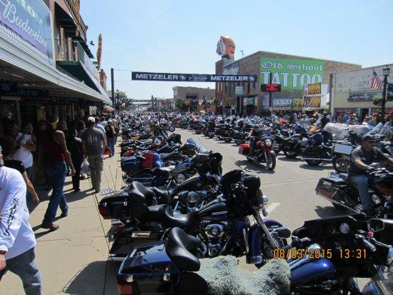 75th anniversary of Sturgis Bike Rally.  Just amazing.