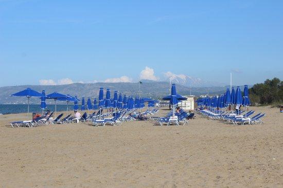 Mare Monte Beach Hotel: la plage de l'hotel