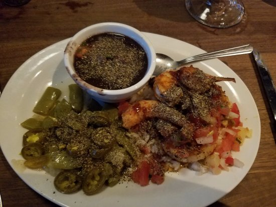 Port Saint Lucie, FL: Seafood with fixins