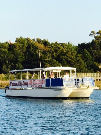 Morehead City, NC: Largest Ferry to Sand Dollar Island!