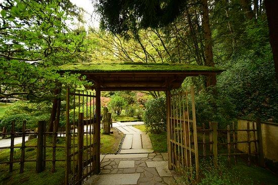 Delicieux Portland Japanese Garden: Garden Gate