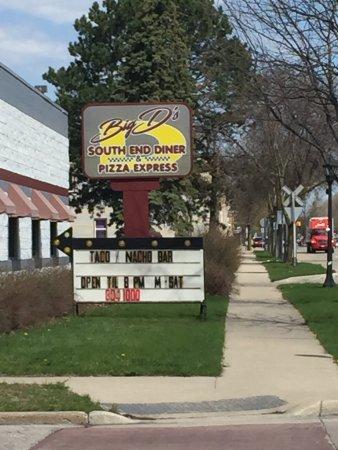 Bay City, MI: Big D's South End Diner & Pizza Express