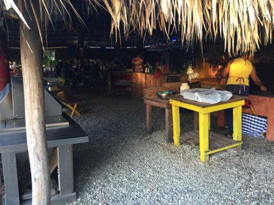 Cabarete Surfcamp: The restaurant's entrance