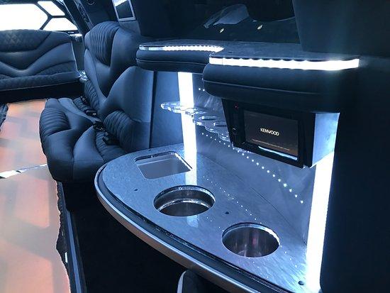 Cadillac Escalade Interior Picture Of Roman Limousine Boston