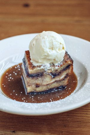 The best dessert ever....sticky toffee bread & butter pudding