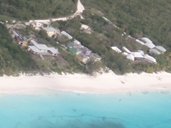 Tail Winds Resort: Tailwinds from the air - is located on center of Shanna's Bay beach