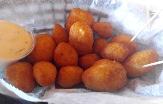 Grayling, MI: Cheese curds