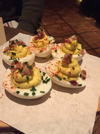 Lawry's The Prime Rib : The deviled eggs