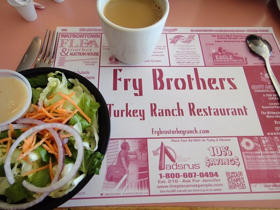 Trout Run, PA: fresh tasty salad