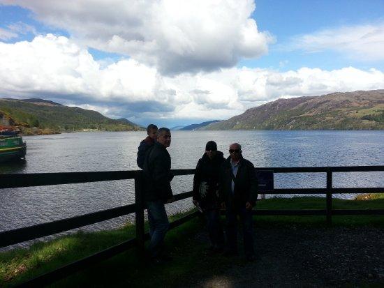 The Boathouse Lochside Restaurant: estupendas vistal al lago ness