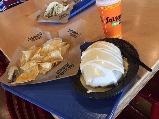 Mount Juliet, TN: Quesorito: Massive Burrito Smothered in Queso!