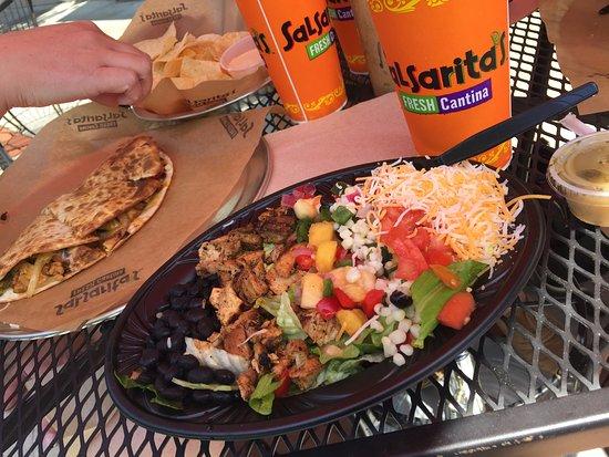 Salsarita S Fresh Mexican Grill Owensboro Menu Prices