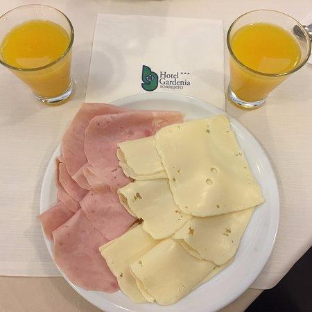 Comfort Hotel Gardenia Sorrento Coast: Some breakfast items