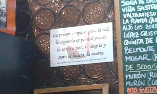 Pradena, Spanien: Frases