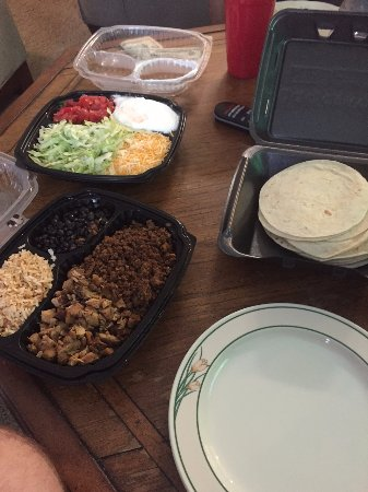 Huntersville, NC: Fiesta Pack (taco take home pack for five)