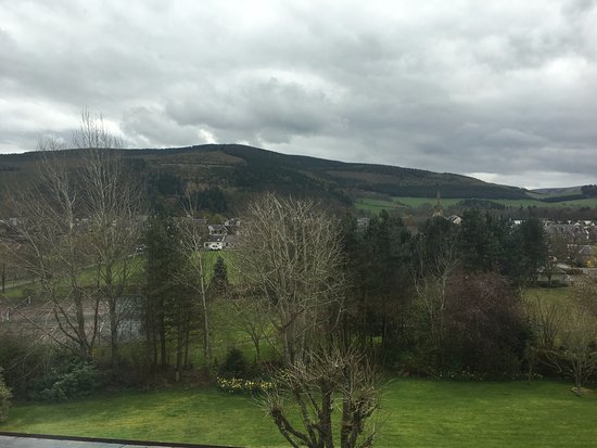 Innerleithen, UK: View from our room