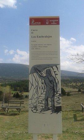 Pradena, Spanyol: letrero de la entrada