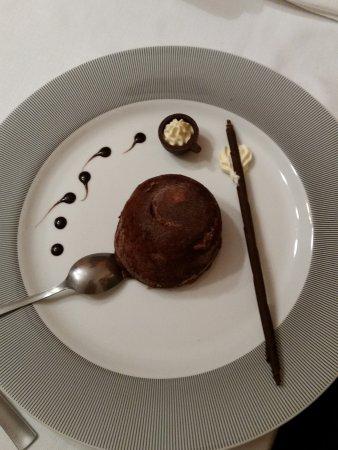Nogarole Rocca, İtalya: Il semifreddo al cioccolato