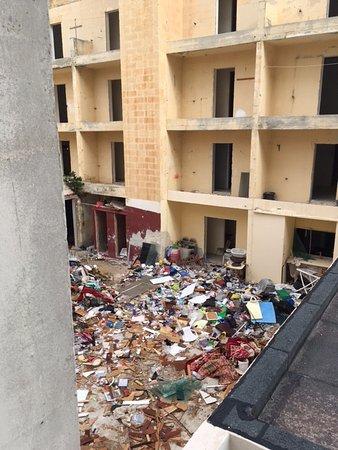 Hotel Santana: vista dalla stanza