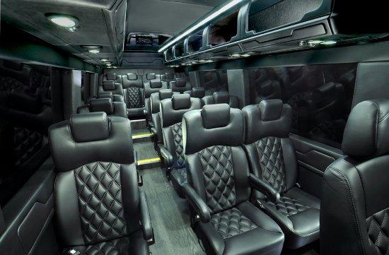North Las Vegas, NV: 16 Passenger Luxury Mercedes Sprinter