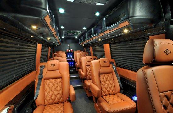 North Las Vegas, NV: 8 Passenger Luxury Mercedes Sprinter