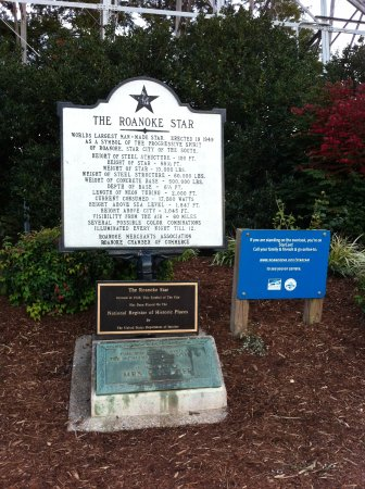 Mill Mountain Star and Park: The Roanoke Star