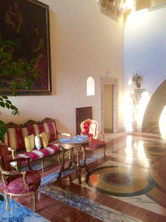 Grand Hotel Dei Castelli: salon au 1er étage