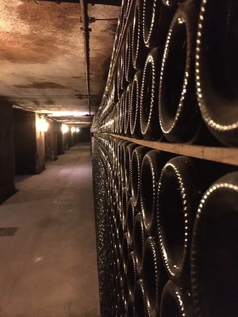 Epernay, France: ONE OF THE GALLERY OF THE CELLAR