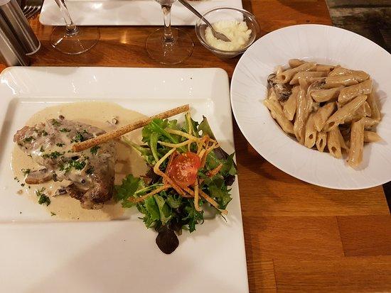 La Penne-sur-Huveaune, France: Bocconcini de veau