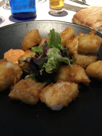 Restaurante La Zafra: Buñuelos de bacalao