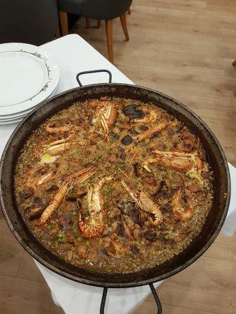 Cantallops, สเปน: Paella marinière