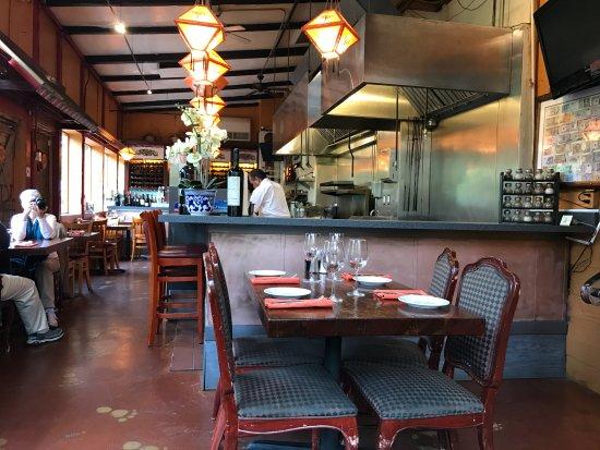 Glen Ellen, Califórnia: Restaurant interior