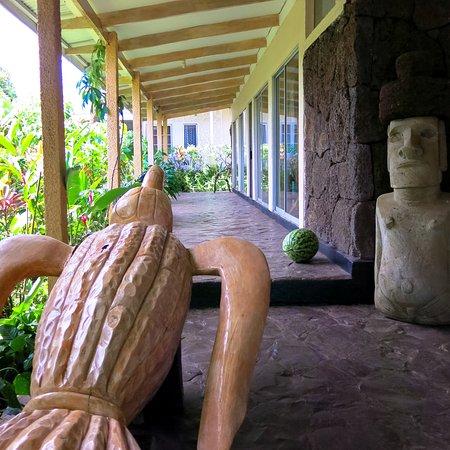 Hotel Orongo: Corredor do hotel