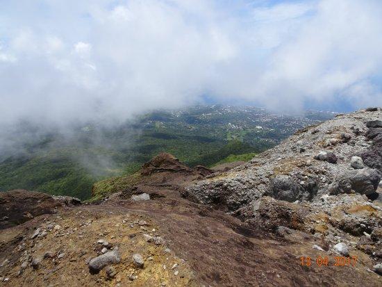 Saint-Claude, Guadalupe: Vu du sommet