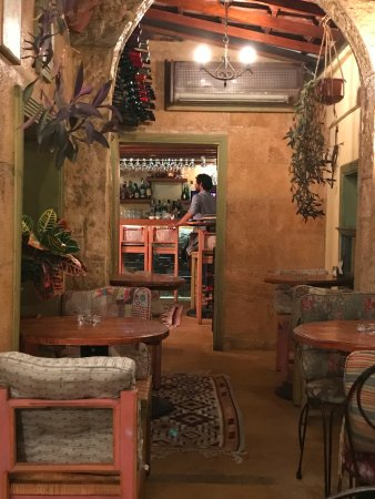L'Autre bistro: from my table towards the bar area