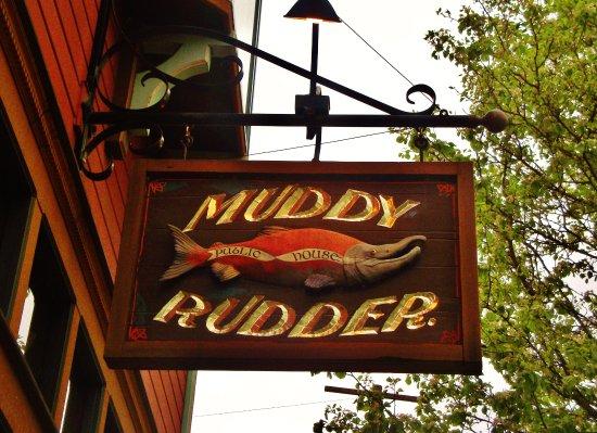 Muddy Rudder nice public house on SE 7th and SE Tacoma near the Sellwood Bridge