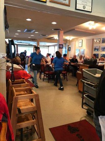 Skipper's Cafe: Back area seating