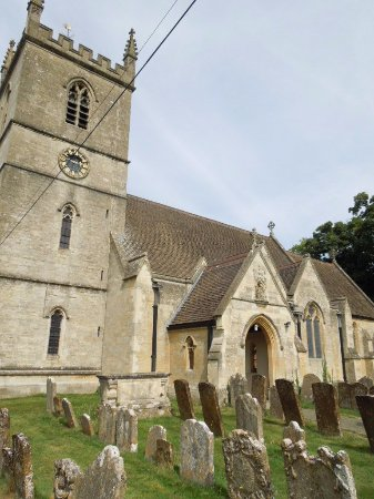Bladon, UK: church and gravesites